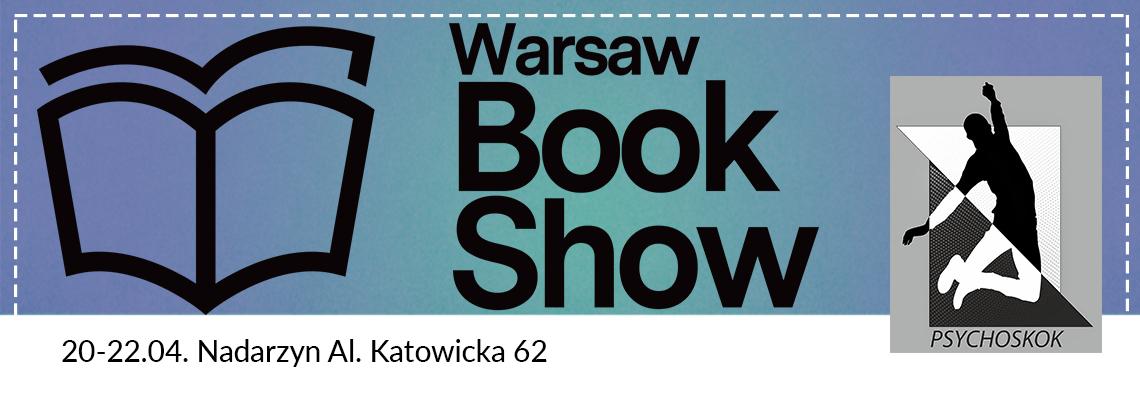 Wydawnictwo Psychoskok jedzie na Warsaw Book Show